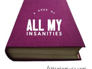 Hello, I love you, here is a book of all my insanities